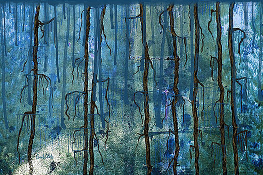 Watering The Roots Abstract by Sandi OReilly