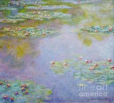 Monet - Waterlilies 1907