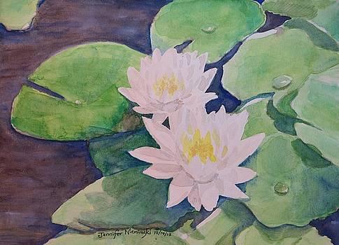 Waterlilies by Jennifer Niemiroski