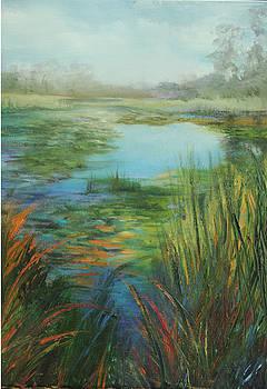Waterlilies by Jill Holt