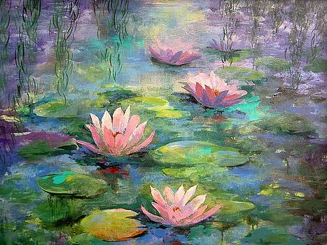 Waterlilies by Madeleine Holzberg