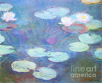 Monet - Waterlilies Pink
