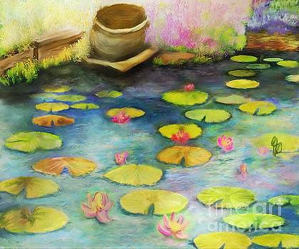 Waterlilies by Sydne Archambault
