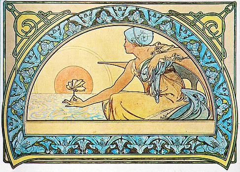 Alphonse Mucha - Waterlily