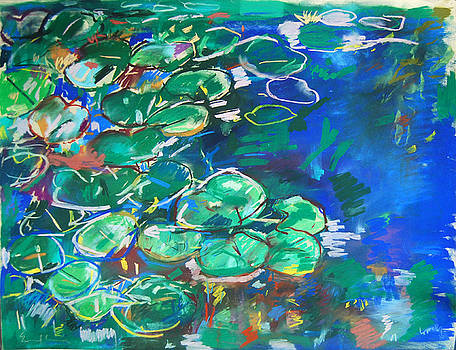 Waterlily Pond by Zolita Sverdlove