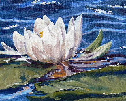 Waterlily Study by RoseMarie Condon