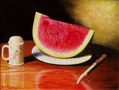 Watermelon time by Gene Gregory