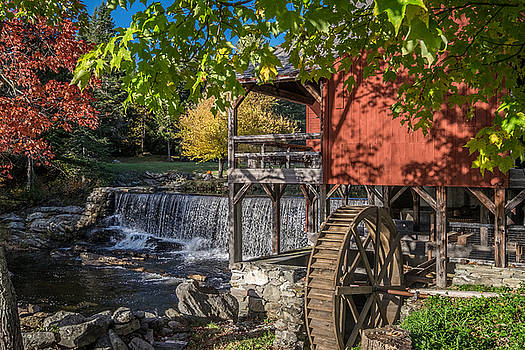 Watermill Scene by Paul Barkevich