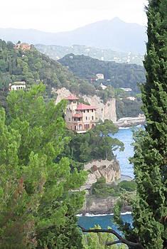 Waters Edge Portofino by Paul Barlo
