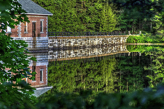 Watershed Reflections, Watertown Connecticut by Skyelyte Photography by Linda Rasch