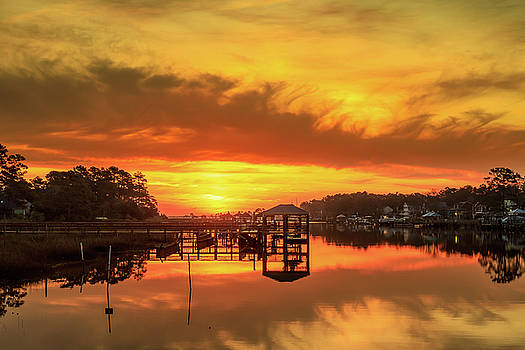 Waterway Park Sunrise by Nick Noble