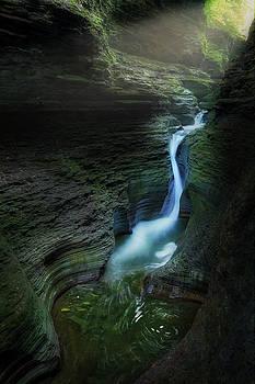 Watkins Glen Gorge by Bill Wakeley