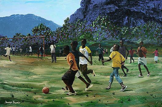 Watoto Katika Kucheza by Taunya Bruns