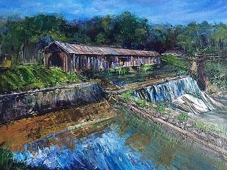 Watson Mill Bridge by Susan Abell