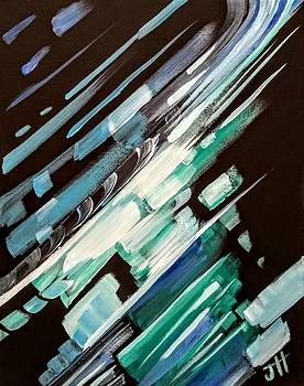 Wave Crash by Jennifer Hotai