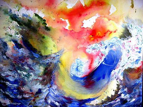 Wave by Moray Watson