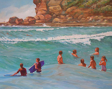 Wave Riders by Sherry McCourt