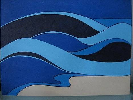 Wave by Sandra McHugh