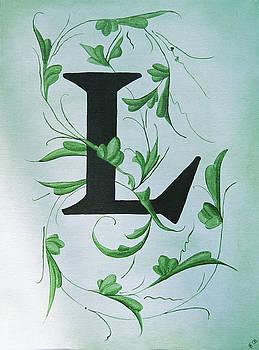Waverly L Monogram by Katie Fitzgerald