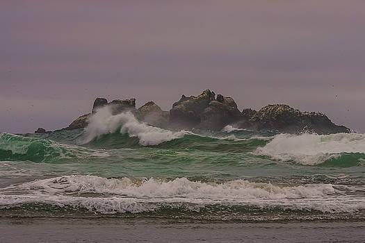 Waves 1 by Ulrich Burkhalter