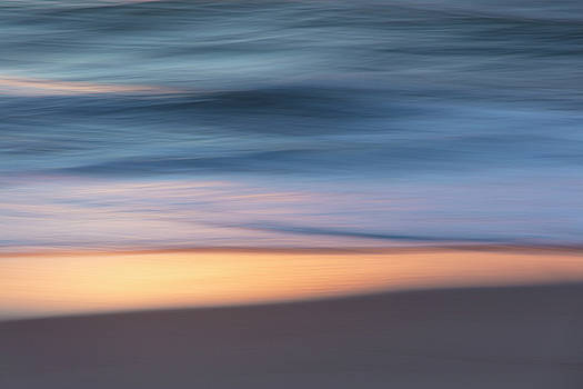 Waves at Dawn Abstract 1 by Susan Schmidt