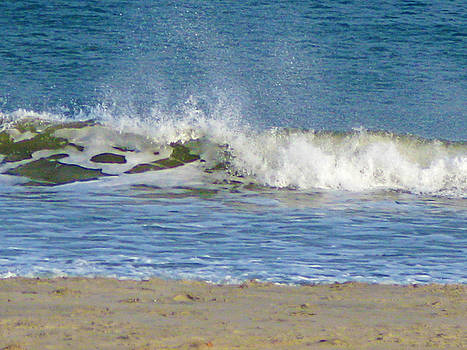 Waves at Hampton Beach by Lynn Harrison