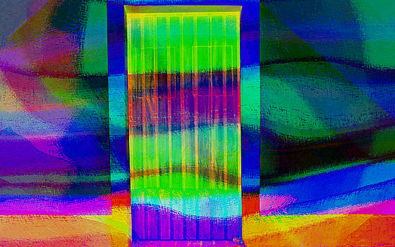 Waves at Ricki's door by Ricardo Dominguez