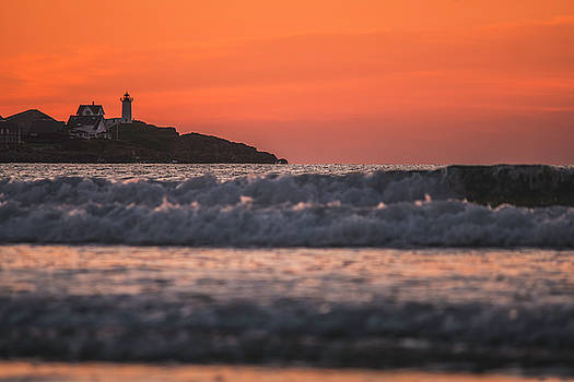 Waves Crashing On Short Sands at Sunrise by Devin LaBrie
