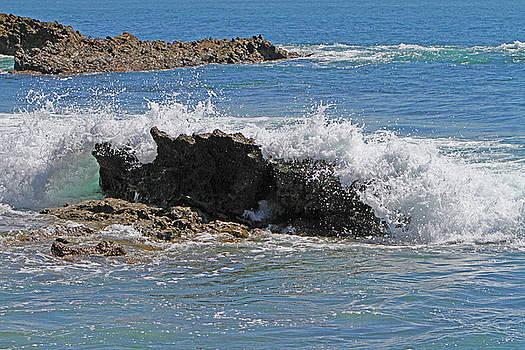 Waves Crashing by Shoal Hollingsworth