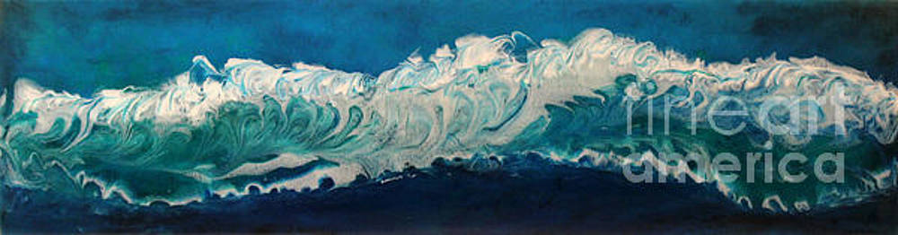 Roaring Waves by Joe Sirianni