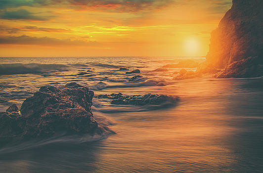 Waves 'n Sand by Andrew Zuber