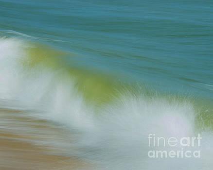 Waves Nature Photograph by Melissa Fague