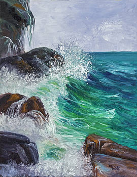 Waves on Maui by Darice Machel McGuire