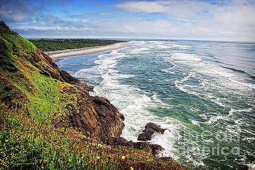 Waves on the Washington Coast by Lincoln Rogers