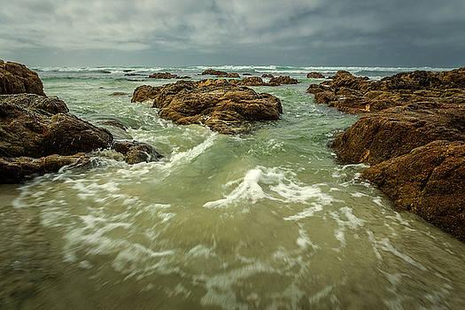 Rick Strobaugh - Waves over Boulders