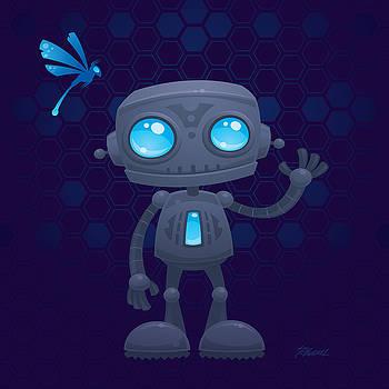 Waving Robot by John Schwegel