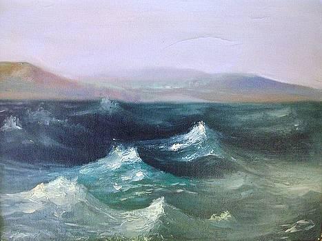 Waving Sea by George Siaba
