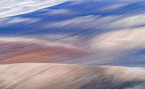 Jenny Rainbow - Wavy Hills Abstract. Moravian Tuscany