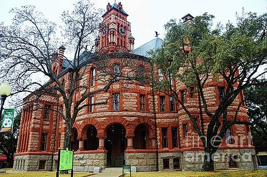 Waxahachie Courthouse by Diana Mary Sharpton
