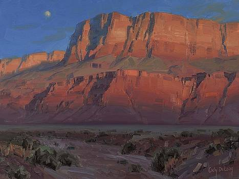 Waxing Moon by Cody DeLong