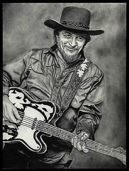 Waylon Jennings by Alycia Ryan