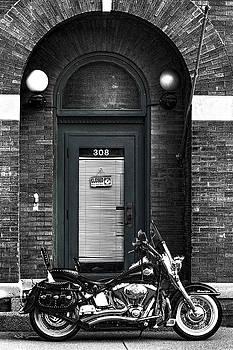 Wayne's Harley by Jeff Swanson
