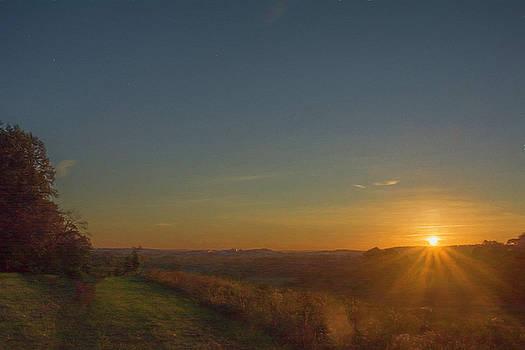 Wayne's Woods Dawn by Jeff Oates Photography