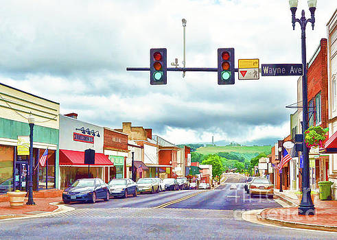 Waynesboro Virginia - Art of the Small Town by Kerri Farley