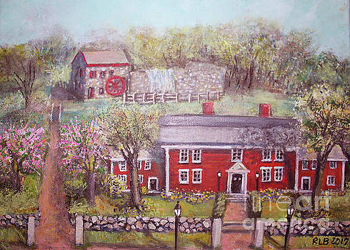 Wayside Inn in Springtime by Rita Brown