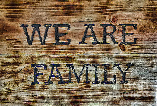 We Are Family by Arnie Goldstein