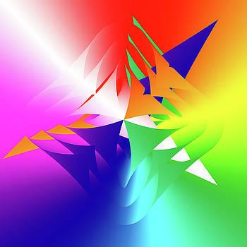 We Are The Onion Rainbow People  by Sir Josef - Social Critic -  Maha Art