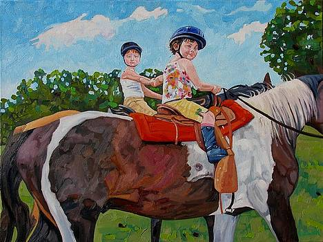 We Like Horses by Phil Chadwick