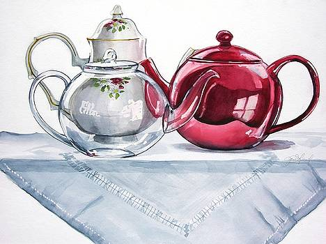 We Three Teapots by Jane Loveall