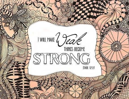 Weak Things Strong Colored by Emily Smith
